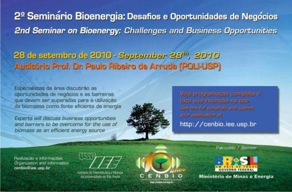 USP promove Seminário de Bioenergia