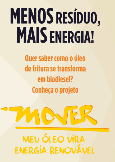 Menos resíduo, mais energia