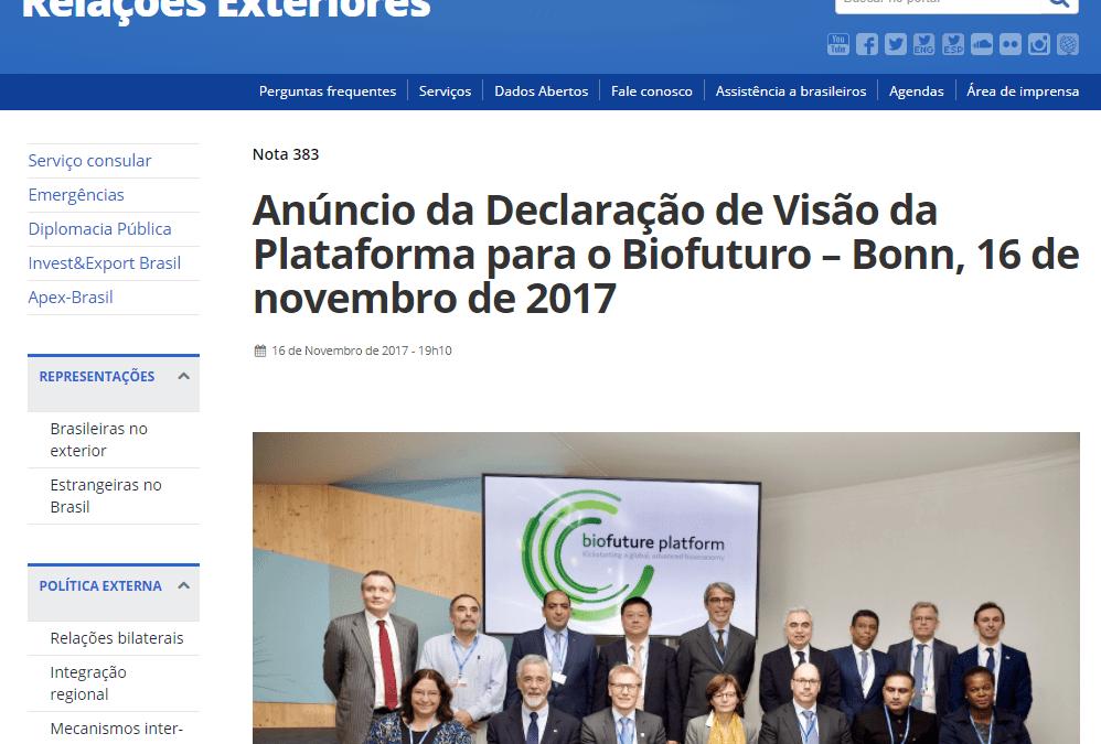 Biofuture Platform (in Portuguese)
