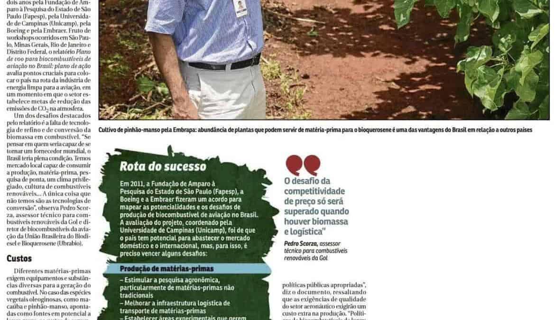 Brasil precisa superar barreiras para se tornar referência em bioquerosene