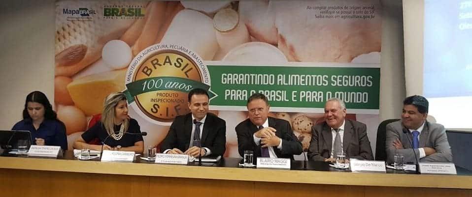 Senador Cidinho Santos e ministro Blairo Maggi participam de reunião da Câmara Setorial do Biodiesel