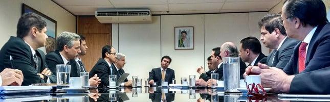 Ubrabio é recebida pelo novo ministro de Minas e Energia