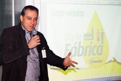 Coordenador Nacional do Selo Combustível Social participa de dia de fábrica da Bianchini