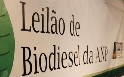 No 73º Leilão de Biodiesel Complementar da ANP foram arrematados 72.750.000 litros de biodiesel para atendimento à mistura obrigatória