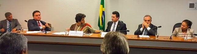 Deputado Sérgio Souza fala sobre biodiesel em audiência da CMMC