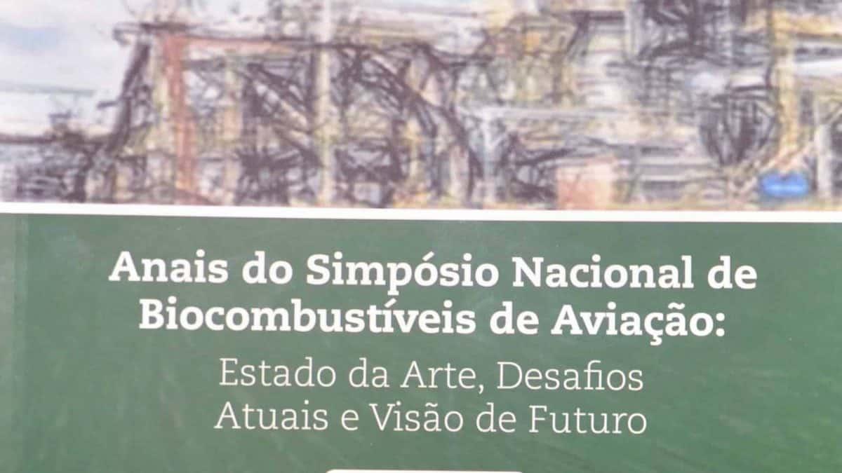 Embrapa publica Anais do I Simpósio Nacional de Biocombustíveis de Aviação