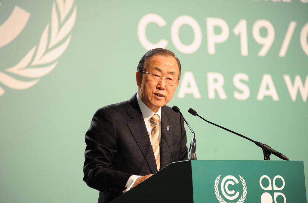 ONU pede que países priorizem meio ambiente em políticas internas