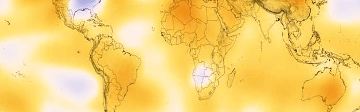 Mobilização para frear o aquecimento do planeta