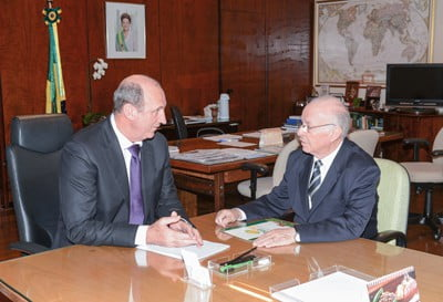 Presidente da Ubrabio reúne-se com ministro Neri Geller