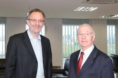 De volta ao MDA, Rosseto recebe presidente da Ubrabio
