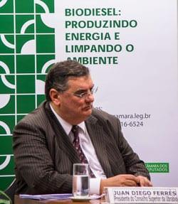 Ferrés apresenta na Câmara dos Deputados o cenário do PNPB