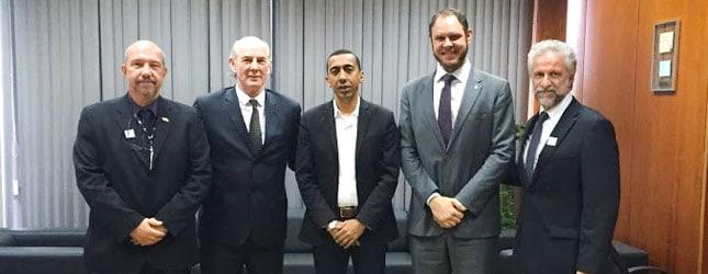 Ubrabio apresenta vantagens do B20 Metropolitano ao vice-governador do DF