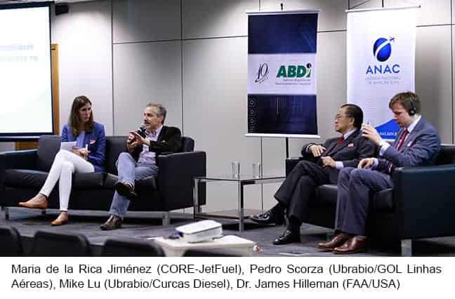 Evento debate uso de combustível sustentável na aviação