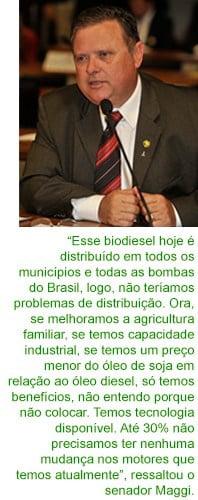 Mais biodiesel no transporte coletivo é saúde e economia para os brasileiros