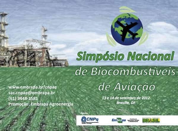 Embrapa promove Simpósio sobre biocombustíveis de aviação