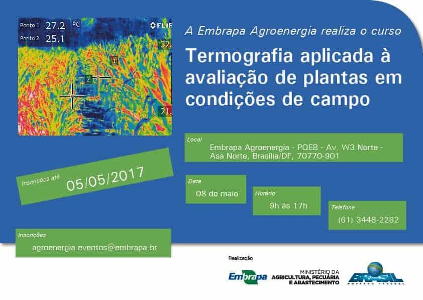 Embrapa Agroenergia promove curso de termografia