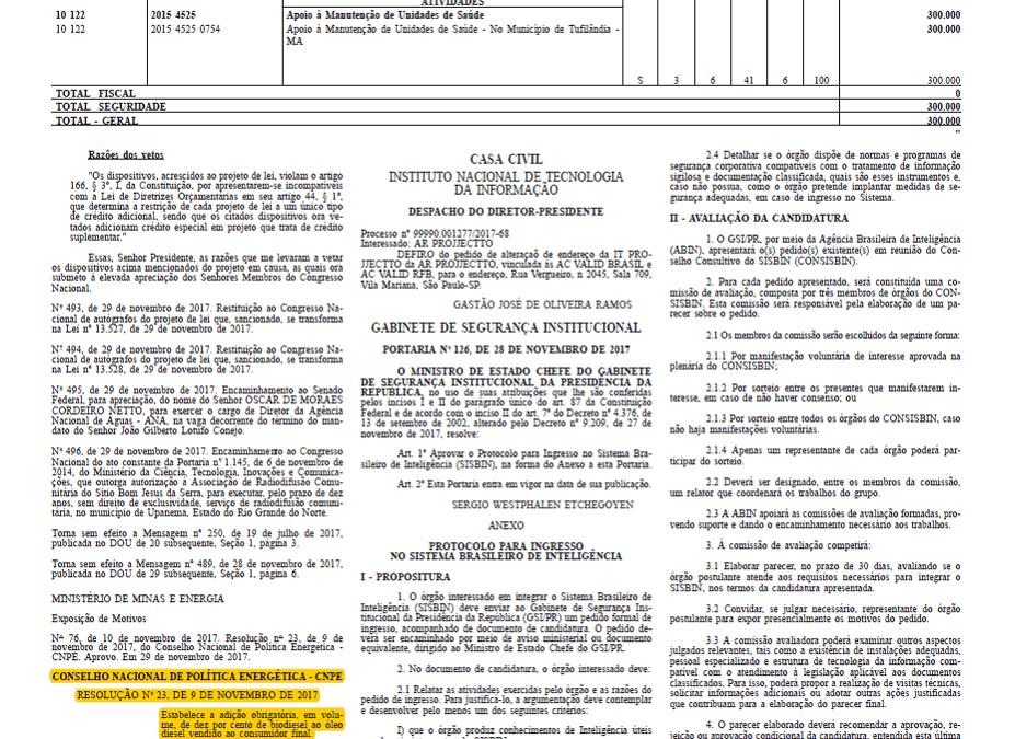 CNPE publica resolução que estabelece o B10 em março de 2018