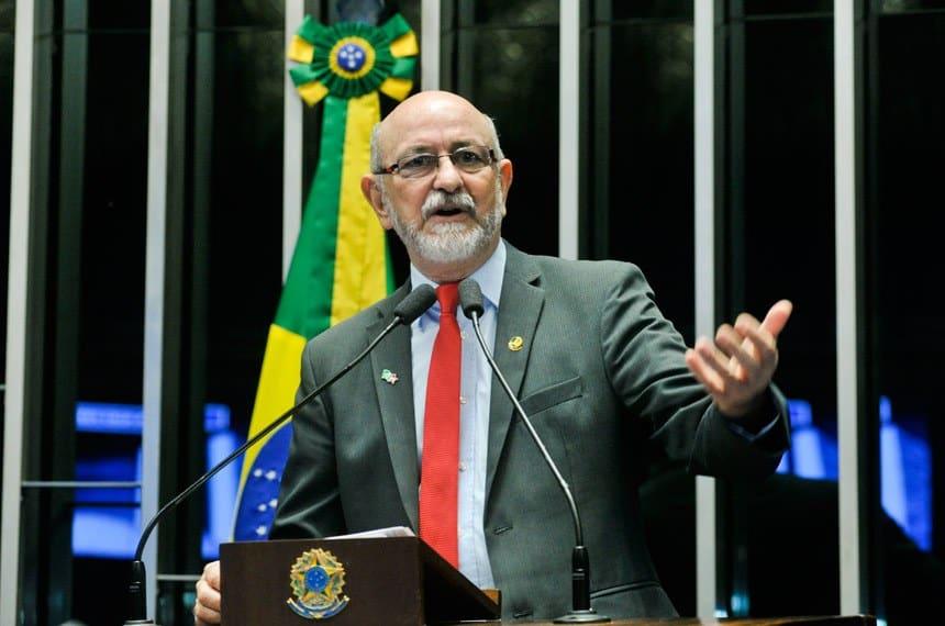 O senador Donizeti Nogueira (PT-TO) / Foto: Geraldo Magela/Agência Senado
