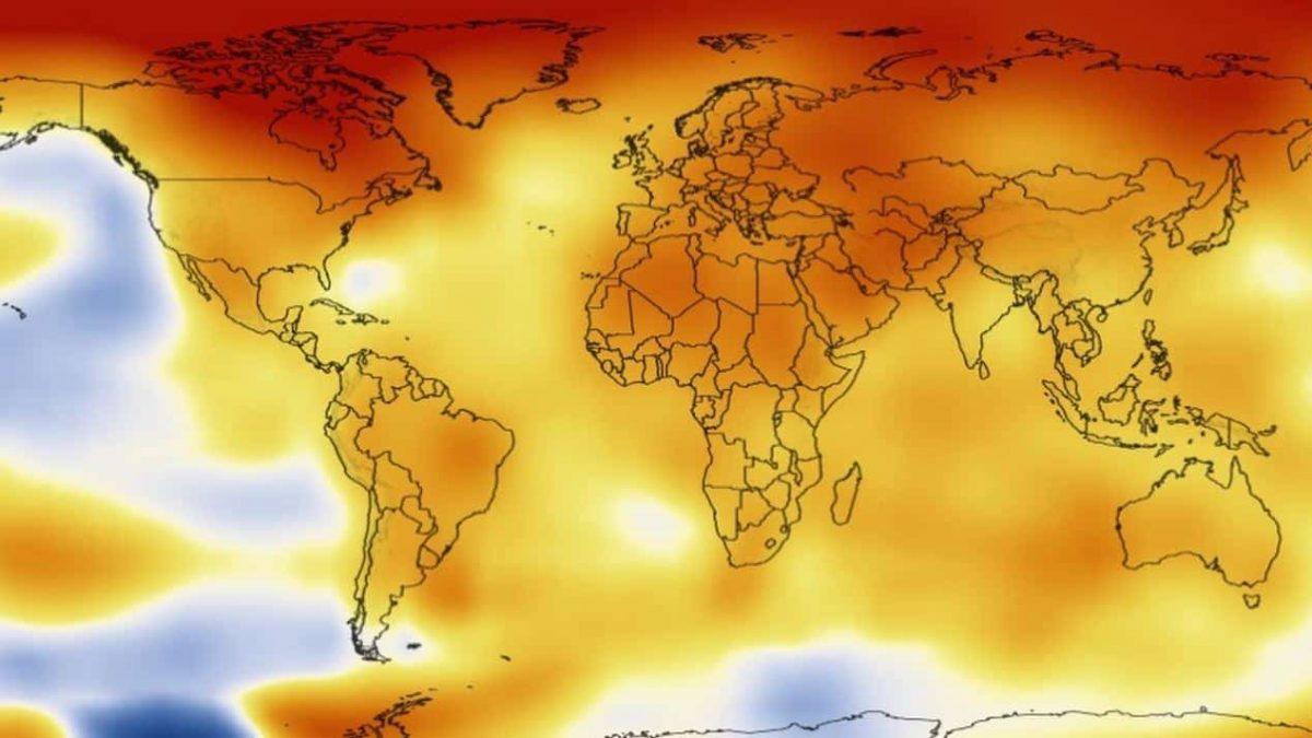 Ano de 2017 foi o segundo mais quente da história