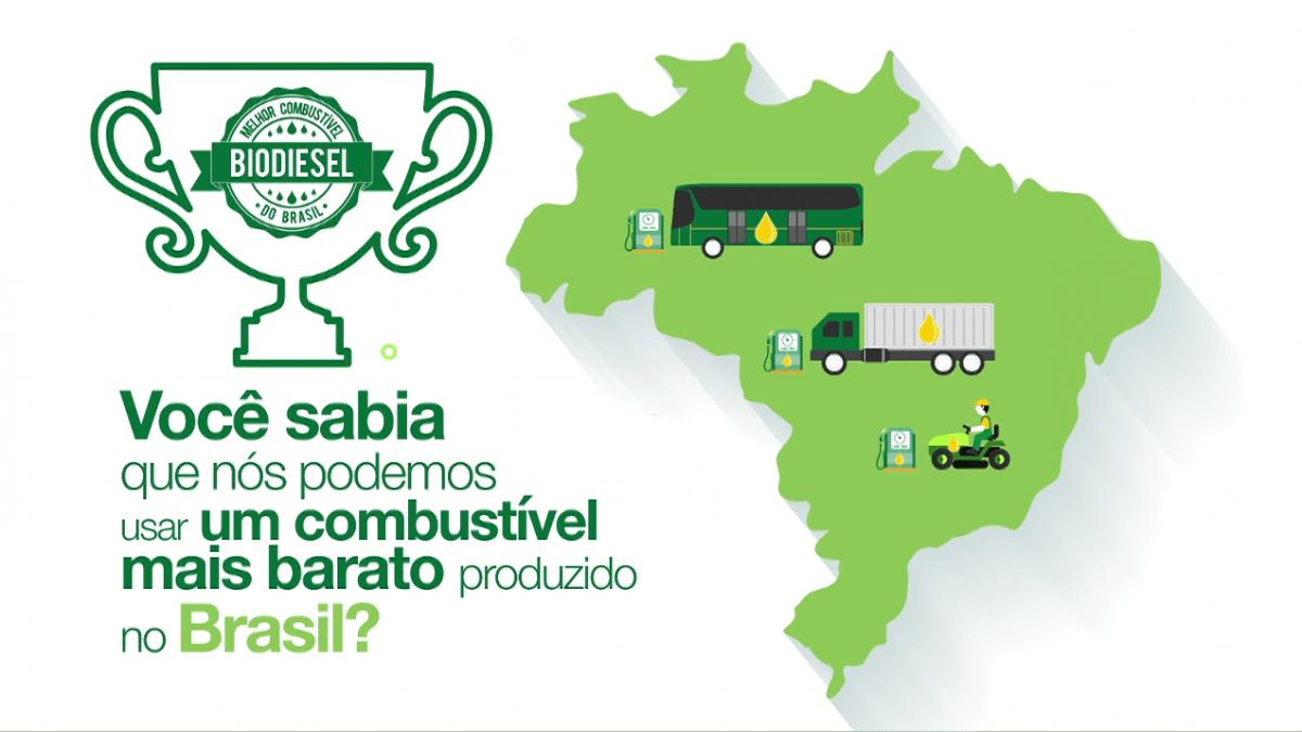 VÍDEO: O biodiesel é a cara do Brasil!