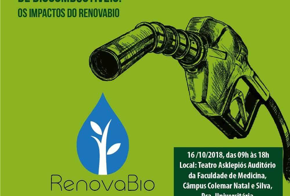 Evento na UFG vai discutir os impactos e desafios do RenovaBio