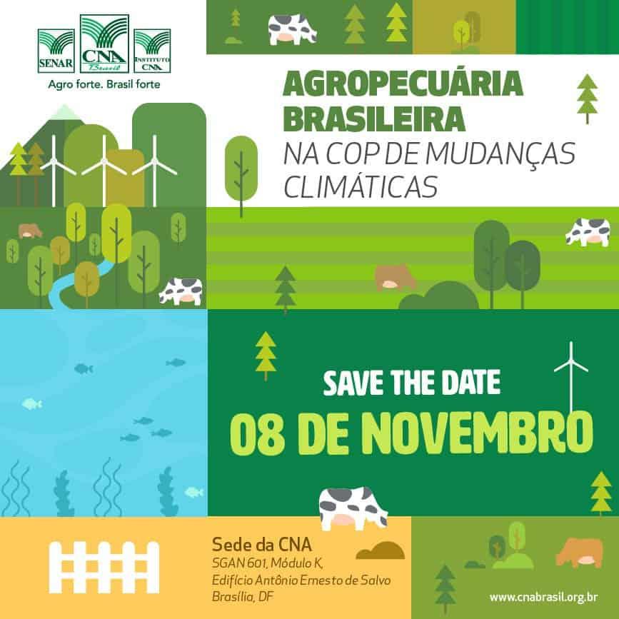Workshop Agropecuária Brasileira no Acordo de Paris @ Brasília-DF