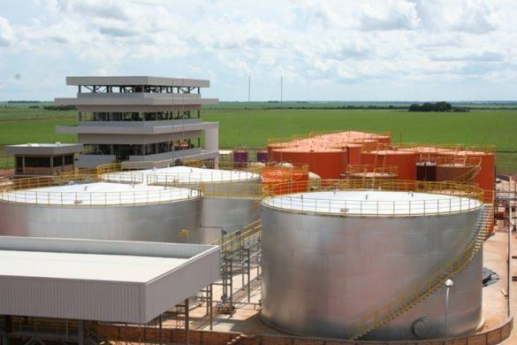 Unidade de produção de biodiesel em Mato Grosso