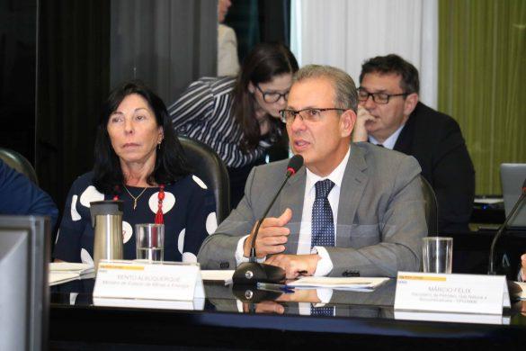 Reunião do ministro Bento Albuquerque com associações do setor de Petróleo, Gás e Biocombustíveis (2019)