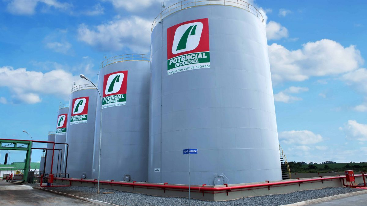 Usina associada à Ubrabio pode se tornar maior produtora de biodiesel no mundo