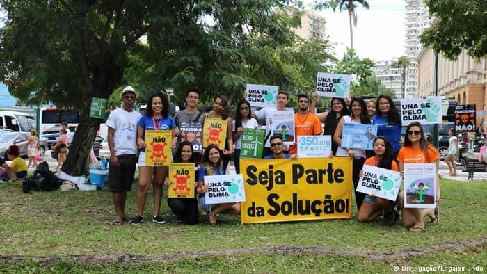 Movimento internacional contra mudanças climáticas chega ao Brasil
