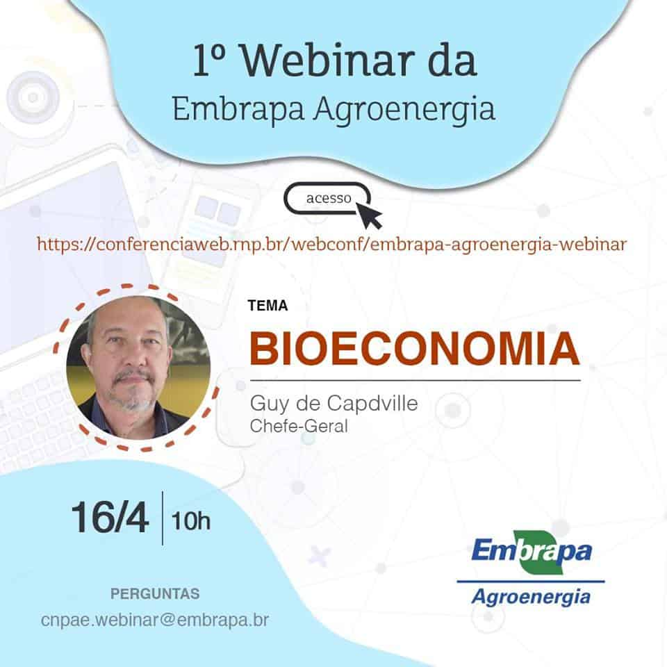Webinar em Bioeconomia