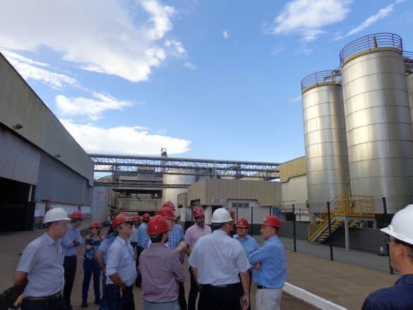 Visita à unidade de produção de biodiesel da Granol durante o RenovaBio Itinerante etapa Anápolis-GO (Foto: Arquivo/Ubrabio)