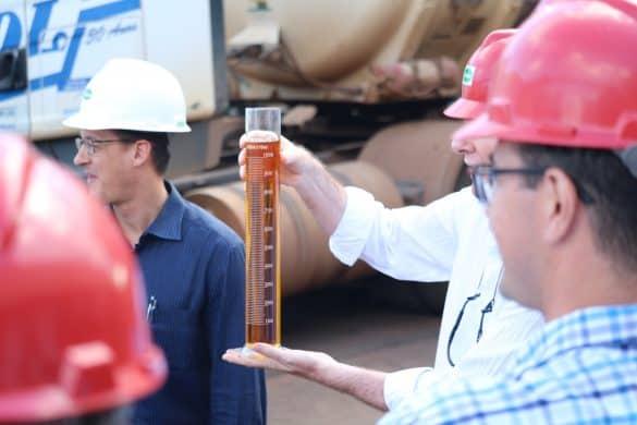 amostra de biodiesel, renovabio