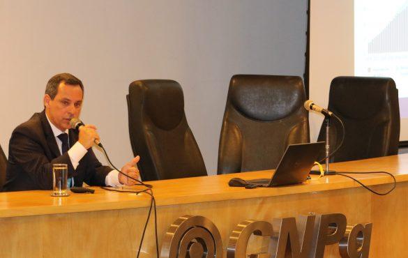 Diretor de Petróleo, Gás e Biocombustíveis da EPE, José Mauro, em seminário da Ubrabio (2018) - Foto: Ubrabio