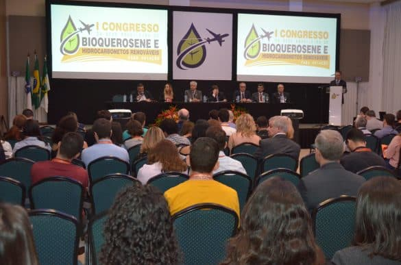 I Congresso da Rede Brasileira de Bioquerosene e Hidrocarbonetos Renováveis para Aviação debateu políticas públicas para o setor