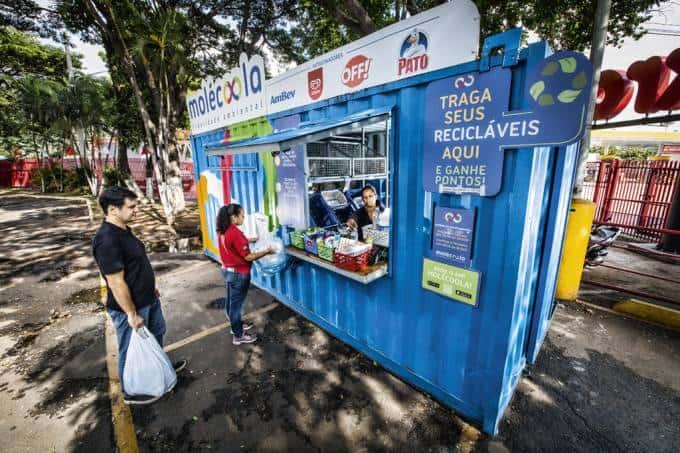 Startup de reciclagem recuperou 160 toneladas de lixo em troca de pontos