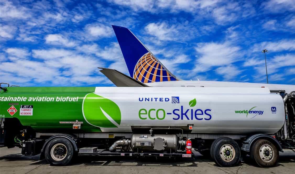 Companhia aérea norte-americana expande uso de biocombustível