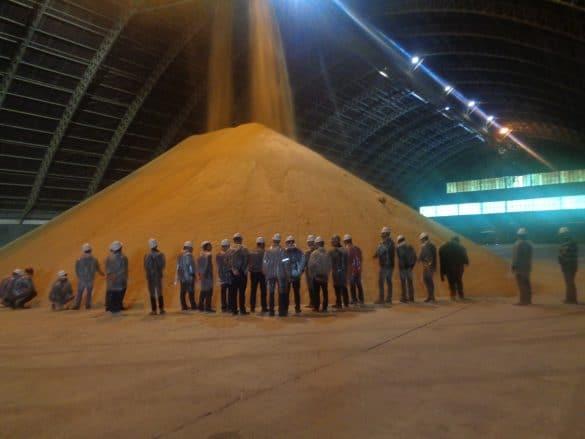 Armazém da unidade de produção de biodiesel da Bianchini - Foto: Divulgação/Bianchini