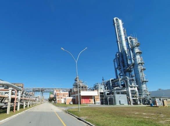 Basf vai elevar produção de metilato de sódio em Guaratinguetá — Foto: Fábio França/ G1