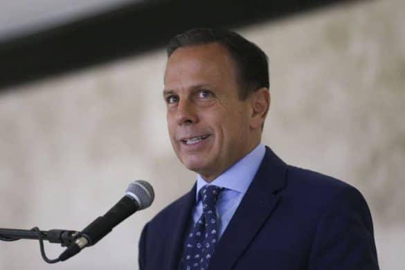 João Doria: governador paulista esteva na China para negociar projeto do trem a biodiesel (José Cruz/Agência Brasil)