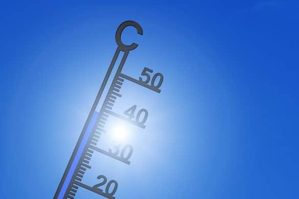 mês mais quente, aquecimento global