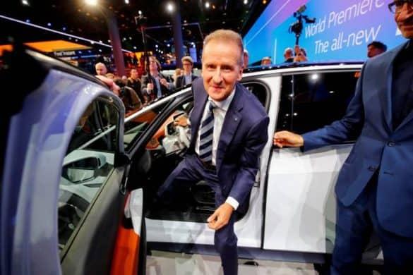 Presidente da Volkswagen, Herbert Diess: acusação de fraude no mercado financeiro. (Wolfgang Rattay/Reuters)