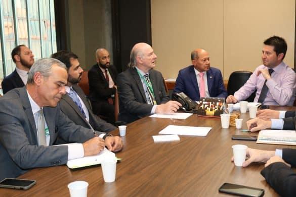 Reunião com a Frente Parlamentar Mista do Biodiesel