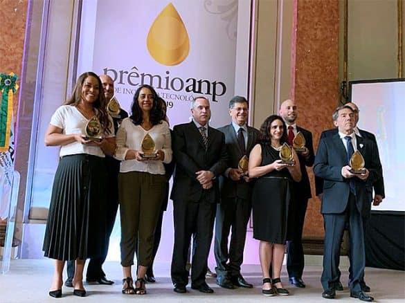 Prêmio ANP de Inovação Tecnológica 2019 foi entregue hoje (28/11) em cerimônia no Palácio do Itamaraty, Rio de Janeiro / Crédito: Divulgação ANP