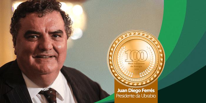 Presidente da Ubrabio é um dos 100 Mais Influentes da Energia