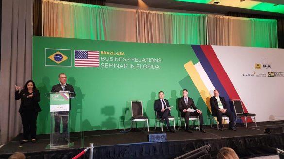 Durante o seminário Brazil-USA Business Relations, Bento Albuquerque destacou aliança pró-biocombustíveis entre Brasil e Estados Unidos