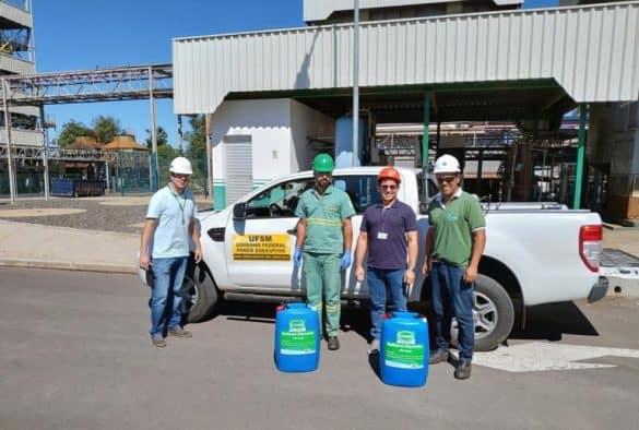 Indústria de biodiesel doa insumo para produção de álcool glicerinado no RS