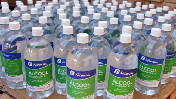 Empresa de biodiesel doa 6 mil litros de álcool glicerinado para linha de frente da saúde