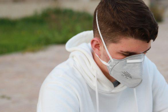 poluição máscara