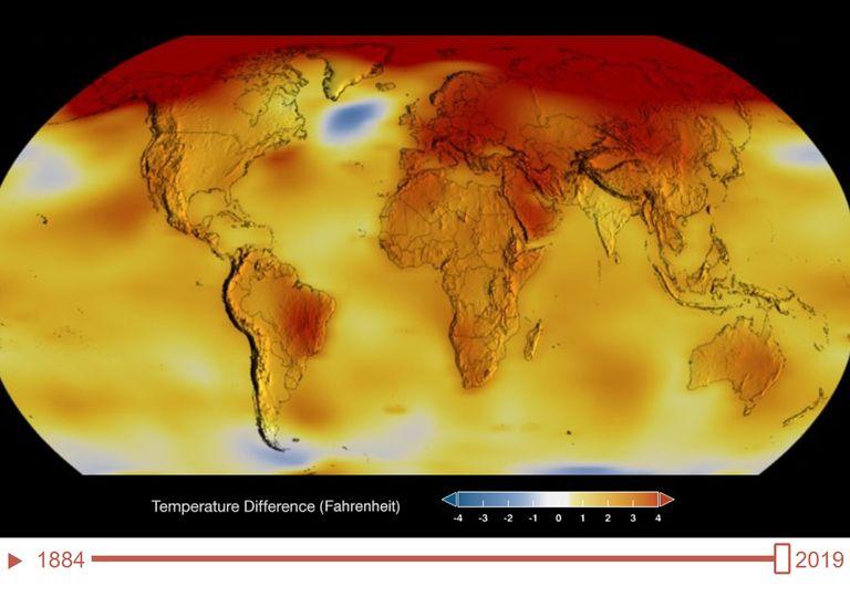 """Viaje com a """"máquina do tempo climática"""" da NASA"""